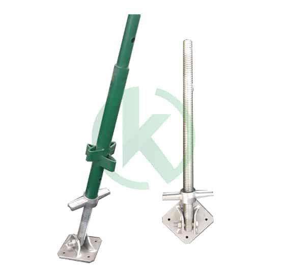 swivel base scaffold jacks
